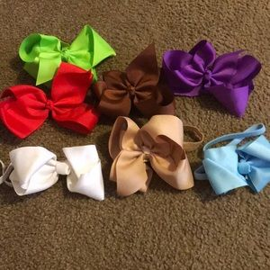 Other - 6 inch bows with headband